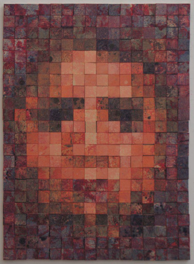 "Andrew Delatolla painting ""distortions"""